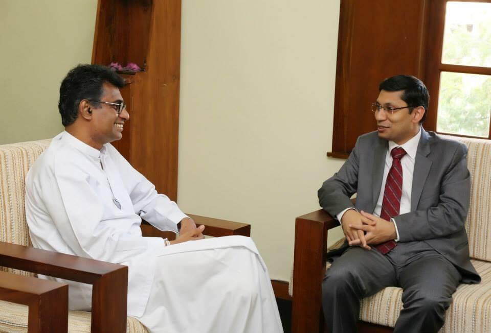 Deputy Indian high commissioner's visit